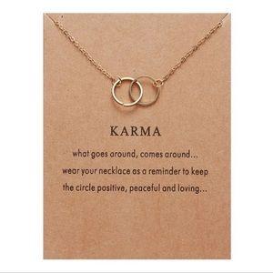 NEW!! ❤️ Karma Pendant Necklace
